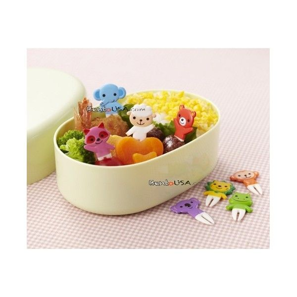 Japanese Bento Box Decoration Accessories This Food Pick Set Includes Bear Lion