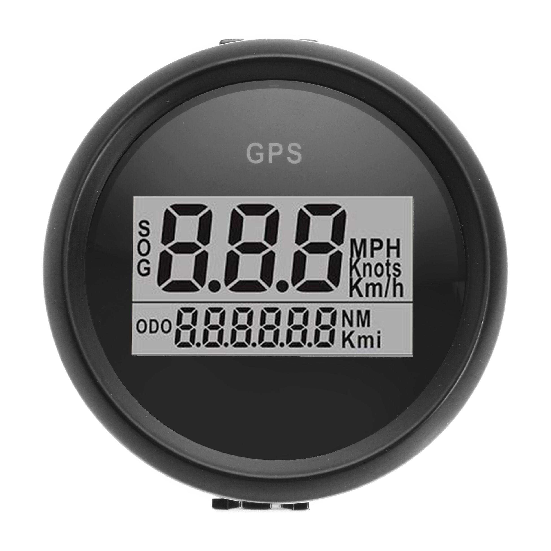 52mm Waterproof GPS Digital Speedometer Gauge For