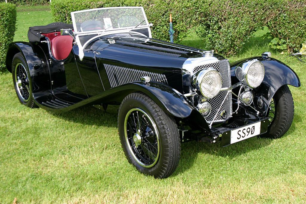 1935 Jaguar SS 90 Roadster - Images, Specifications and Information ...