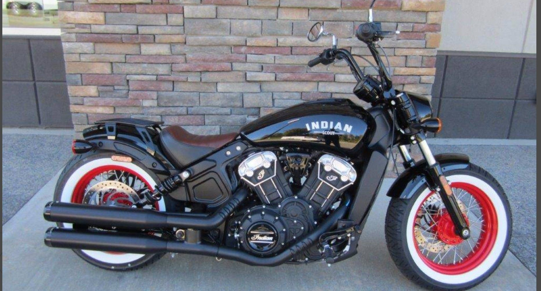 Gorgeous Indian Motorcycle With Whitewalls Indian Motorcycle Scout Indian Scout Bike Indian Scout Sixty