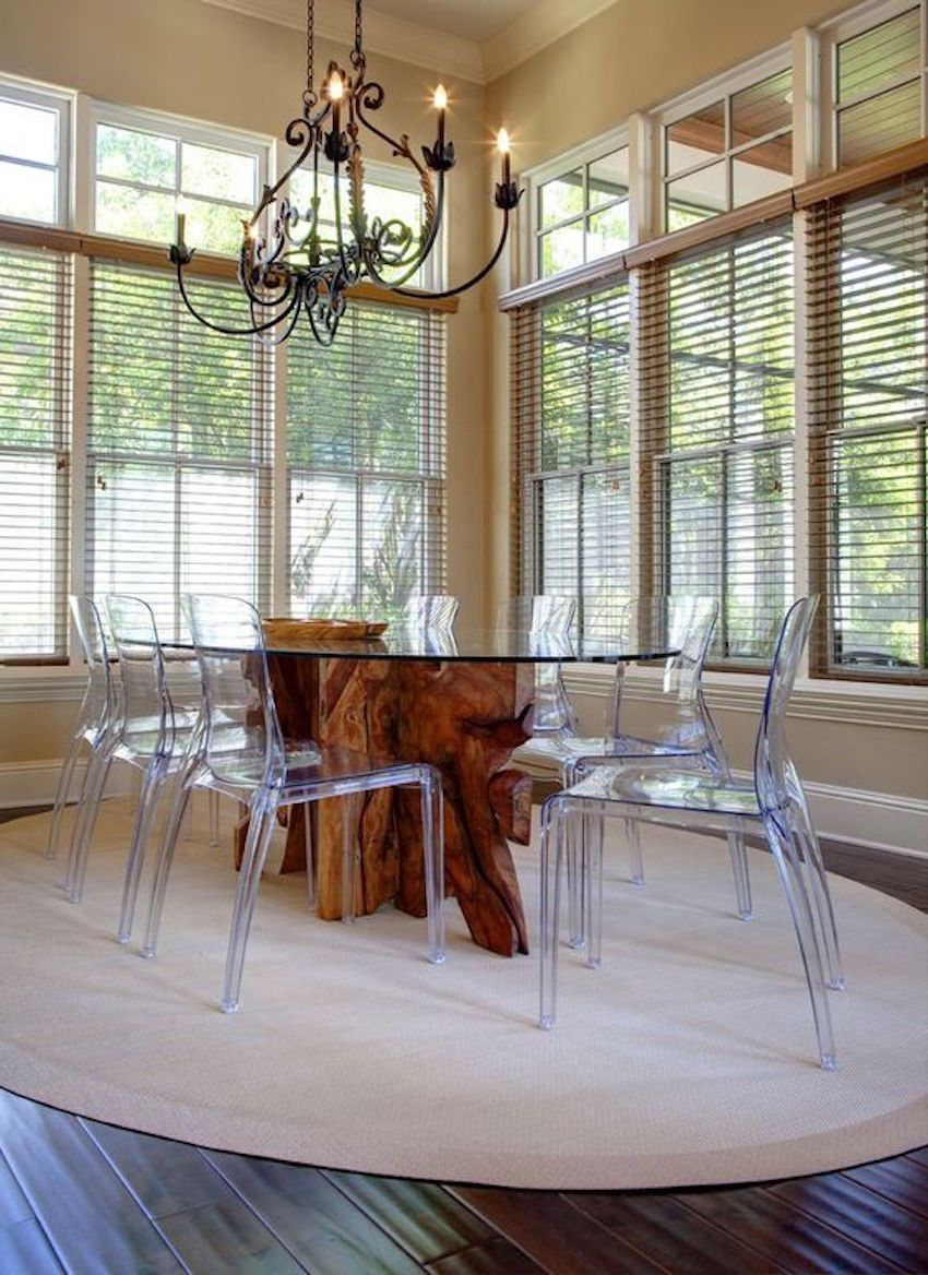 15 astounding oval dining tables for your modern dining for Best transitional dining rooms
