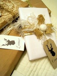 the stag gift tag!