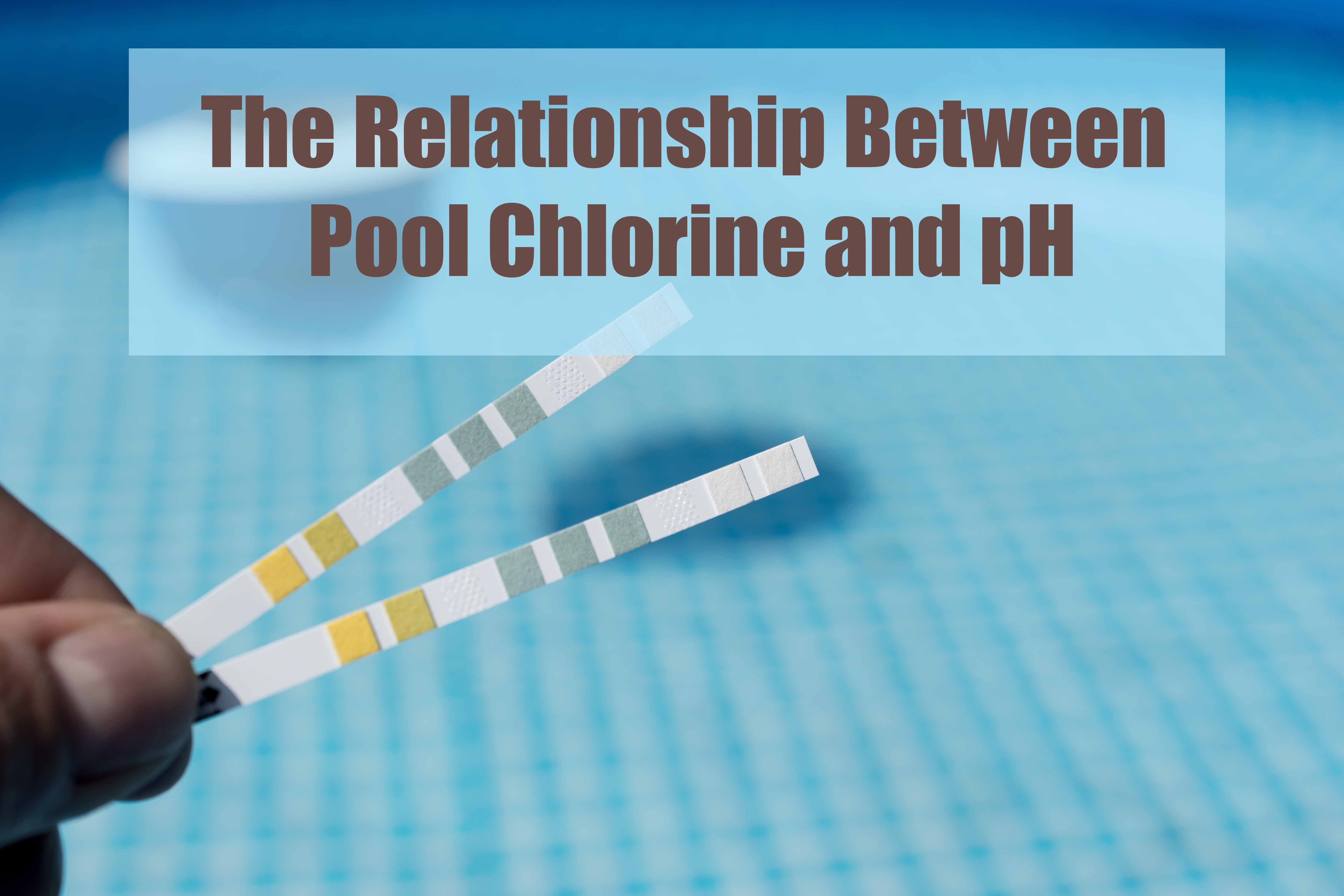 The Relationship Between Pool Chlorine And Ph Pool Chlorine Pool Chlorine