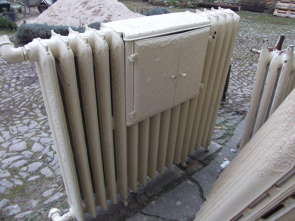 Alte Heizkörper alter antiker nostalgie jugendstil heizkörper radiator mit wärmefach