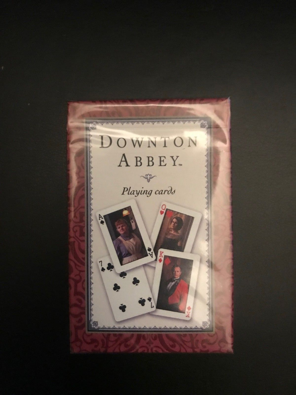 Downton Abbey Playing Cards Red