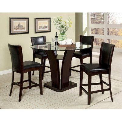 Hokku Designs Uptown Counter Height 5 Piece Dining Set Check This Awesome Product By
