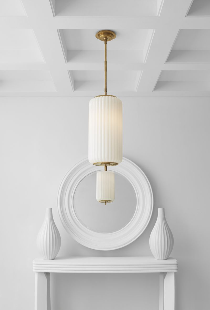 Eden medium pendant by thomas obrien tob5160 available in two eden medium pendant by thomas obrien tob5160 available in two finishes arubaitofo Gallery