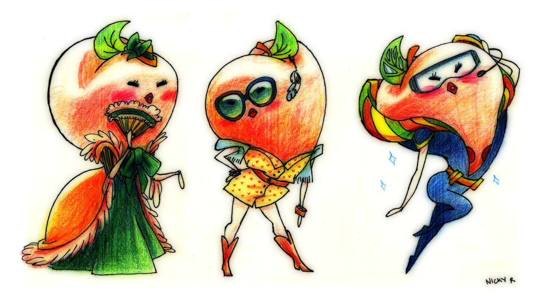Nicky's Sketchbook! - #fashion #fruit