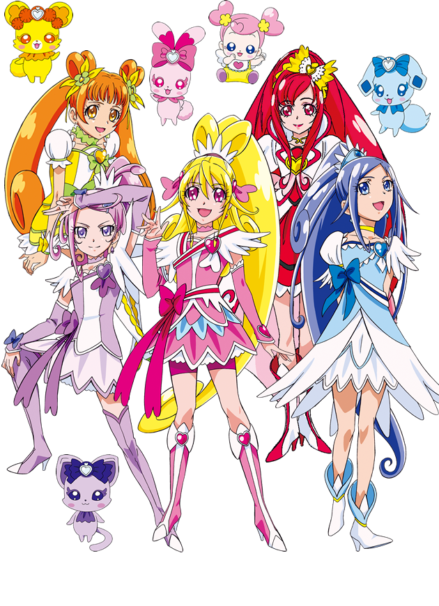 Doki Doki By Goddesscuremystic On Deviantart Glitter Force Kawaii Anime Anime Chibi