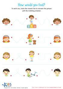 Feelings and Emotions Worksheet #kids #preschool # ...