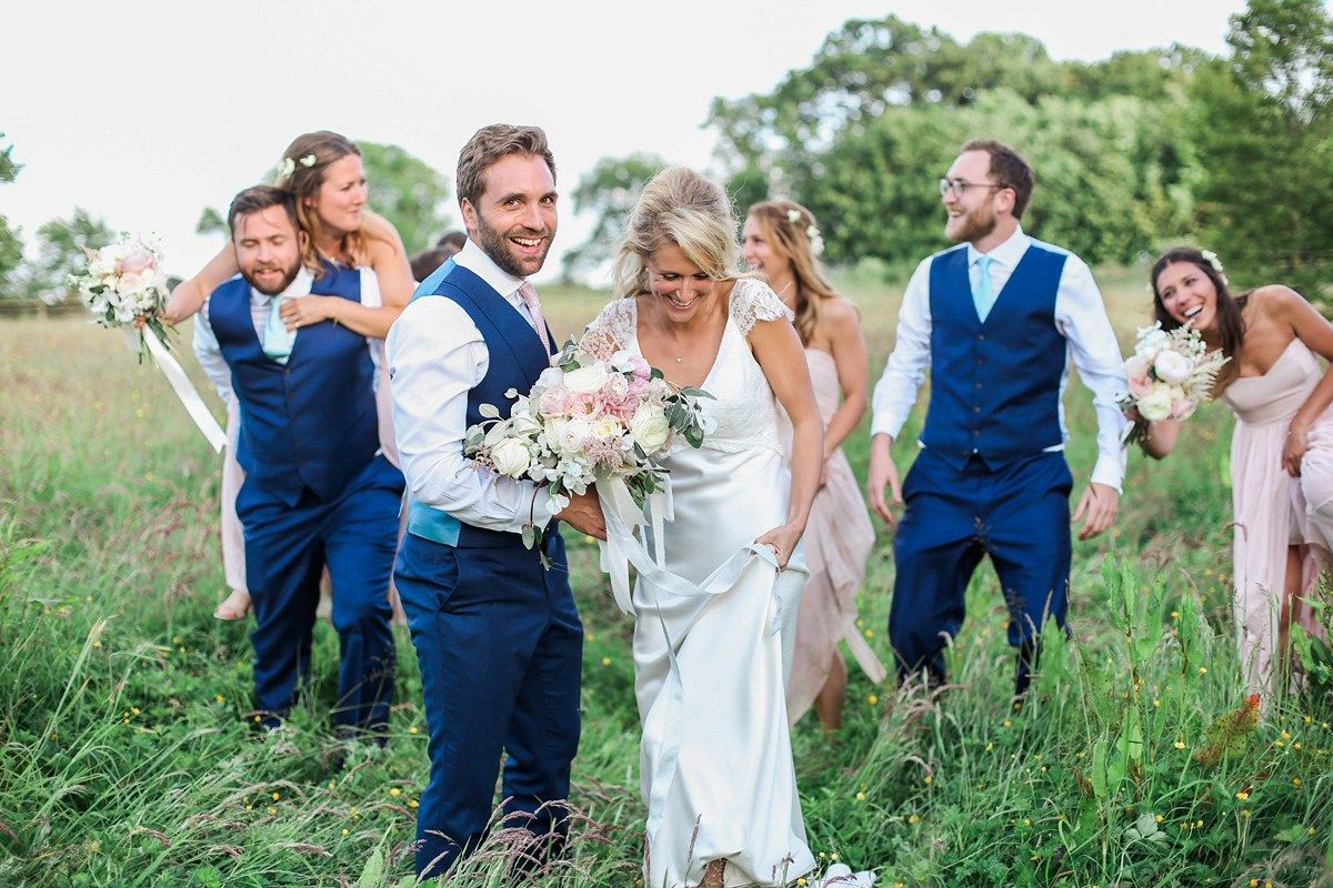 Sassi holford elegance for a romantic english country garden wedding