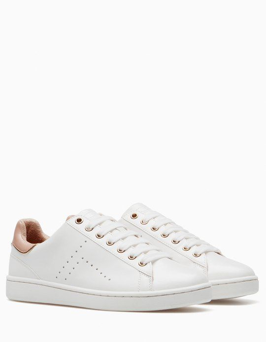 056adf77ccbf9 At Stradivarius you ll find 1 White sneakers for woman for just 29.99 £ .  Visit now to discover this and more ALL.