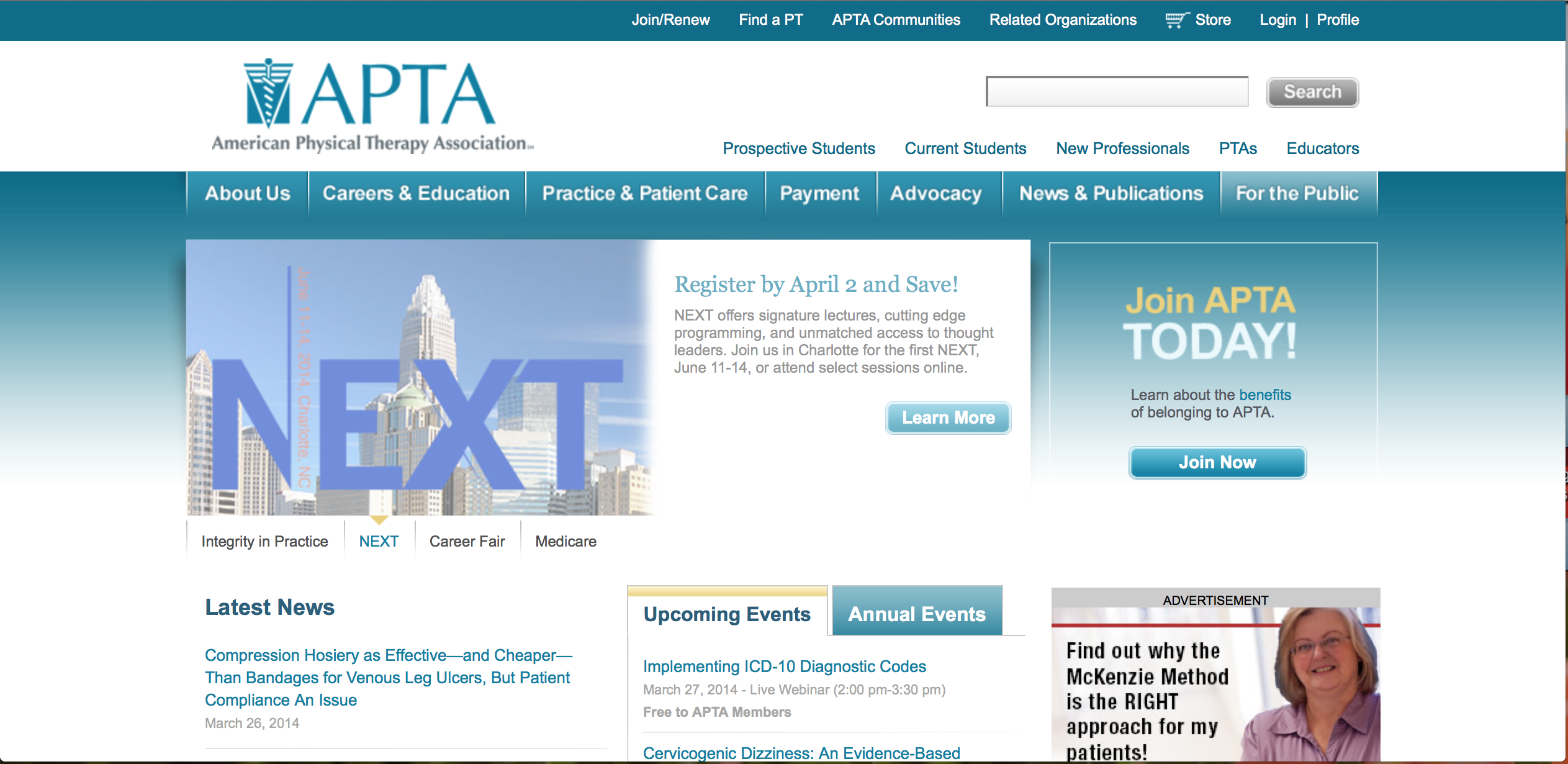 American physical therapy - Apta American Physical Therapy Association Website