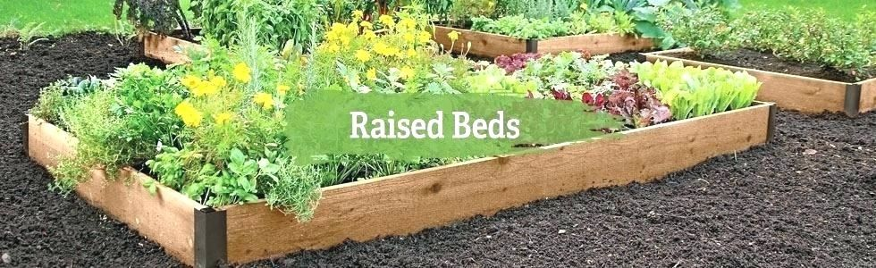 using a raised garden bed | Vegetable garden raised beds ...