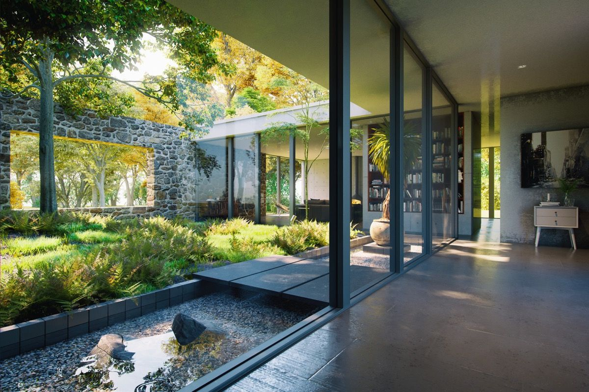 51 Captivating Courtyard Designs That Make Us Go Wow Courtyard