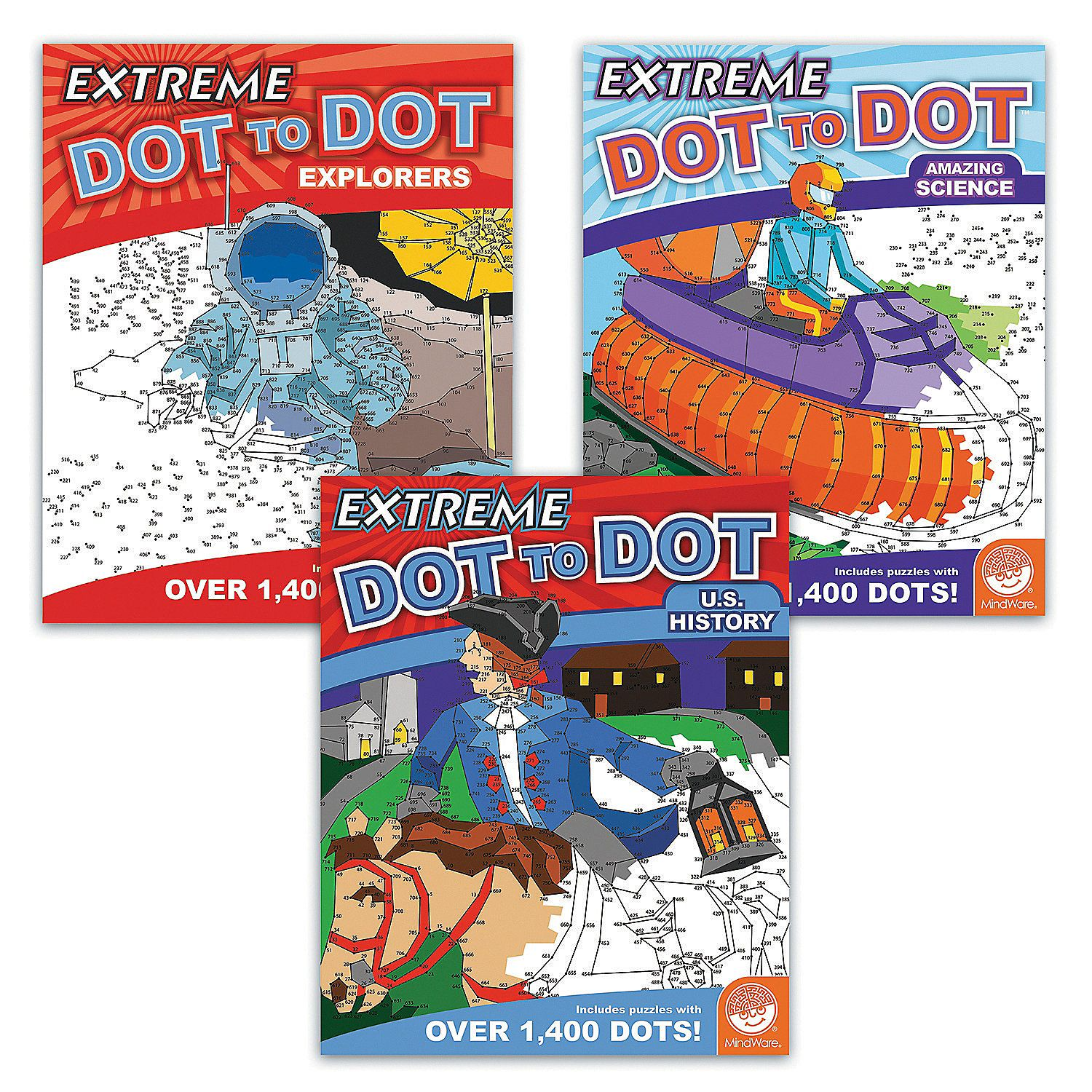 Extreme Dot To Dot History Set Of 3