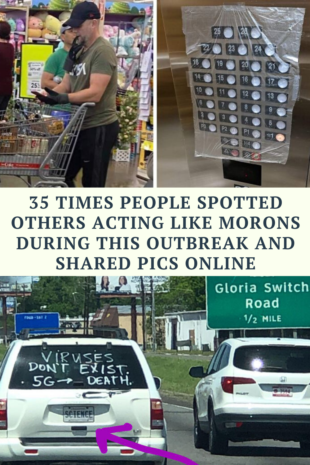 35 Times People Spotted Others Acting Like Morons During This Outbreak And Shared Pics Online