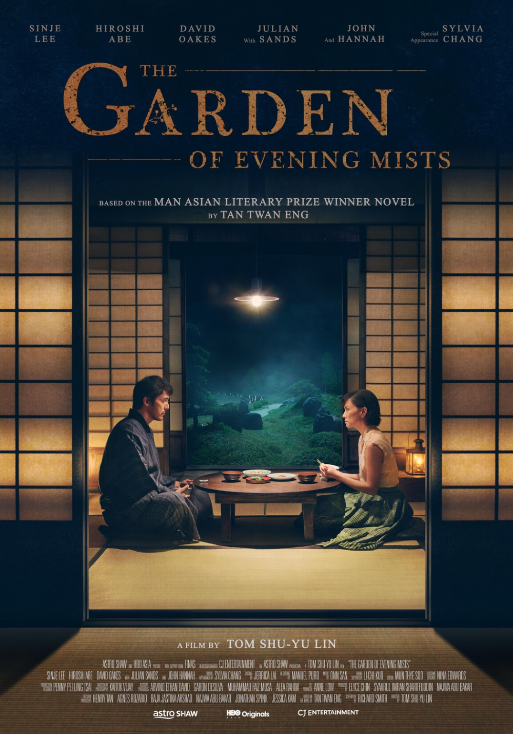 Return to the main poster page for The Garden of Evening