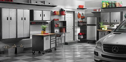 Find Garage Organizing Inspiration From Elfa, Ikea, And Sears   Unclutterer    For The Home   Pinterest   Storage, Garage Storage And Garage Systems