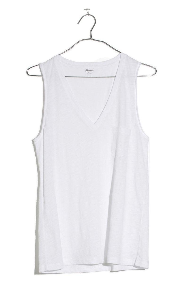 750695a871827 Whisper Cotton V-Neck Tank