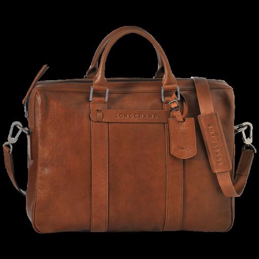 Document holder - Longchamp 3D - Handbags - Longchamp - Cognac ...
