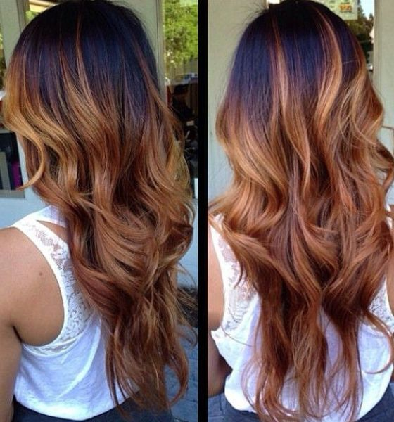 Stunning Ombre Hair Color Ideas For Blond Red Brown And Black