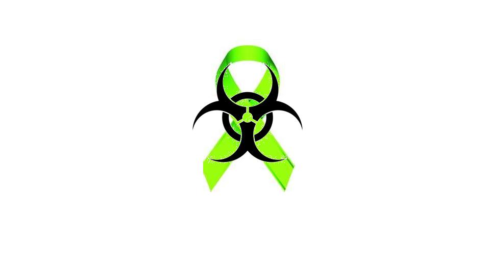 Lymphoma Cancer Ribbon The Bio Hazard Symbol Tattoo Idea Tattoos