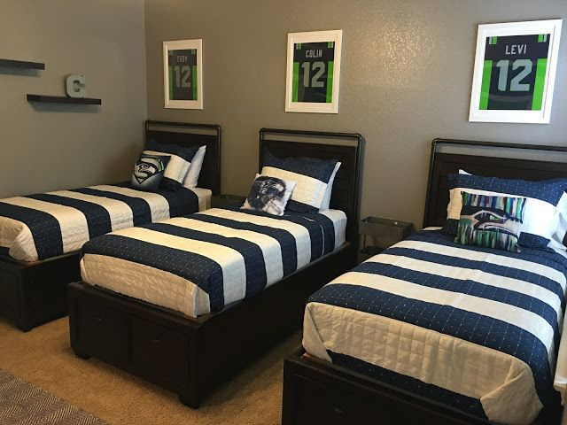 Boys Seattle Seahawks room (With images)   Home decor ...