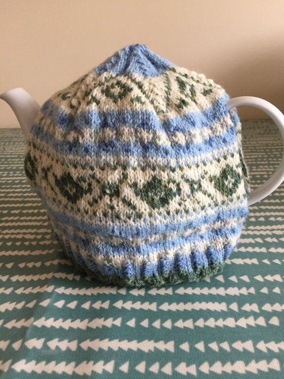 Fairisle Teapot Teacosy | Shetland wool, Fair isles and Teapot
