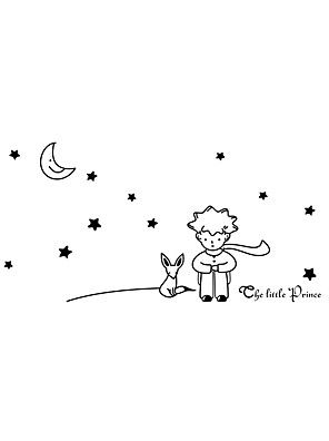 Wall Stickers Wall Decals Style Star Moon Pvc Wall Stickers Cad
