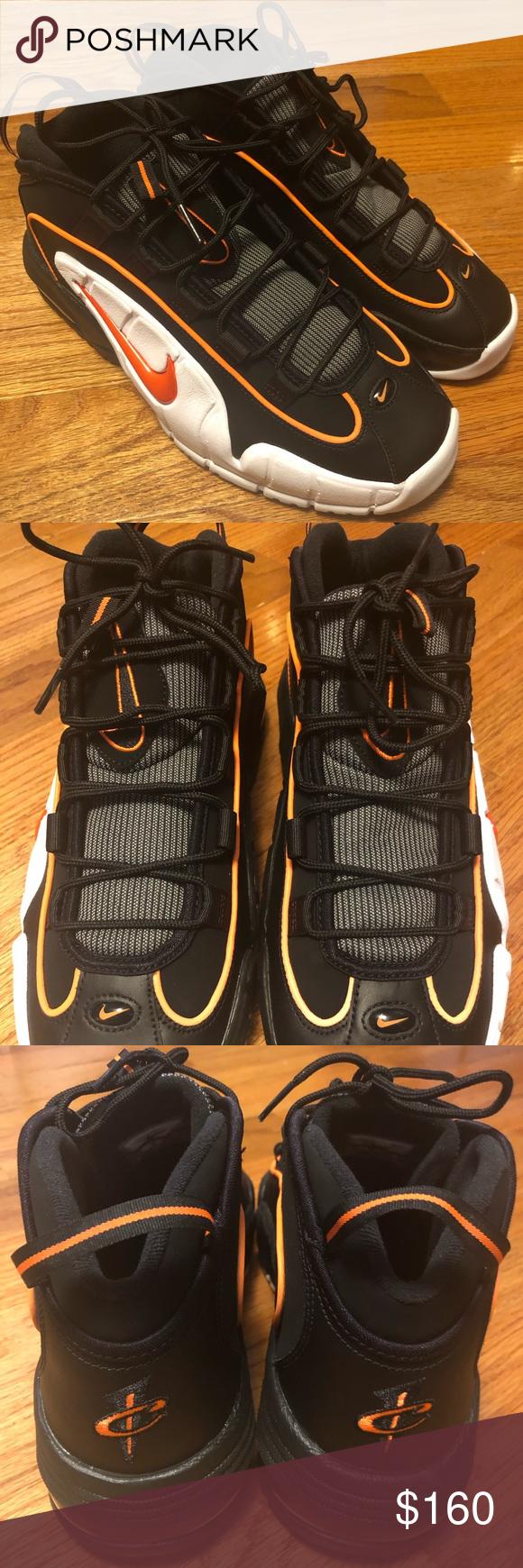 new arrival 00638 5a91e Nike Air Max Penny 1 Black Total Orange White !!! BRAND NEW !