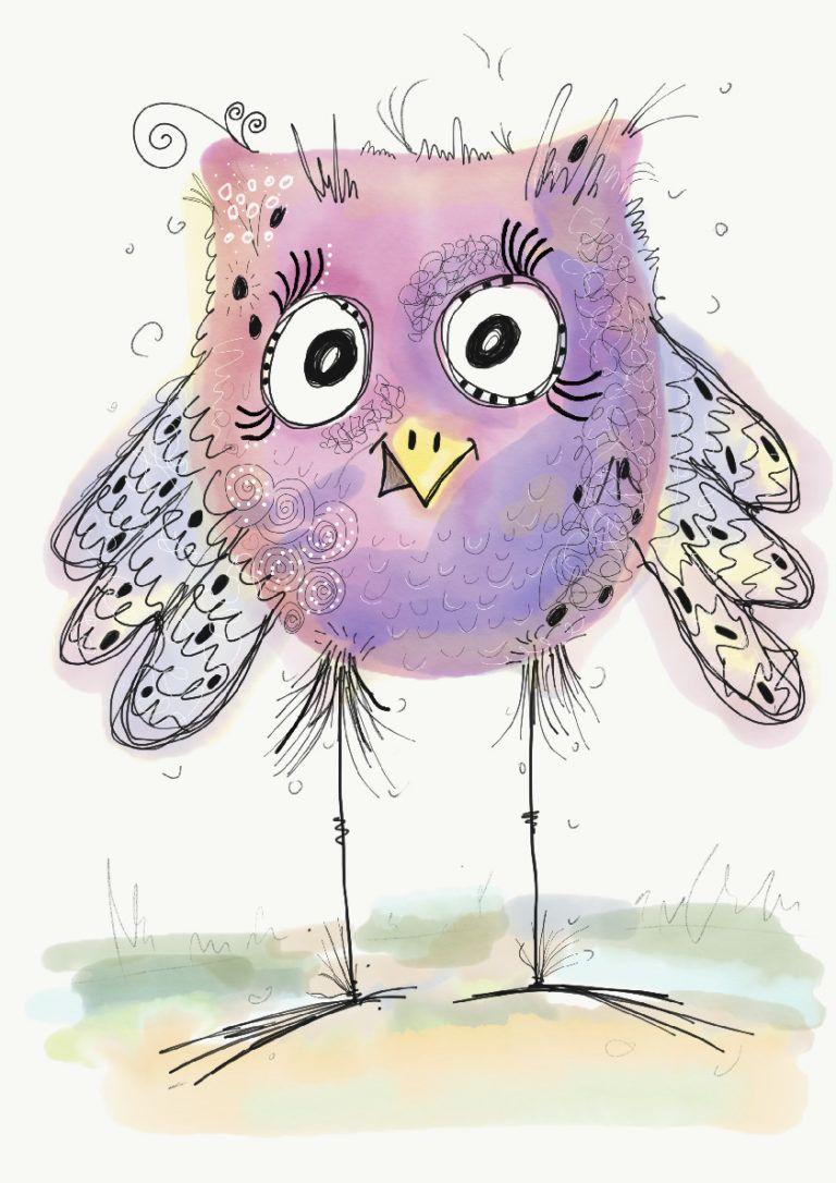 Happy Bird Von Stefaro Tiere Malen Zeichnungen Und Zeichnen