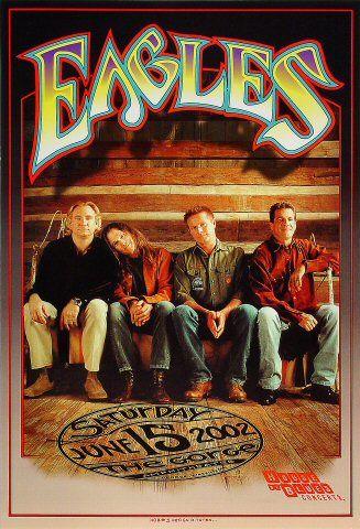 Image Detail For Celebrity The Eagles Band Poster Vintage