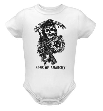 397f3b216 Sons of Anarchy onesie!! | Things For My Baby Girl | Baby kids ...