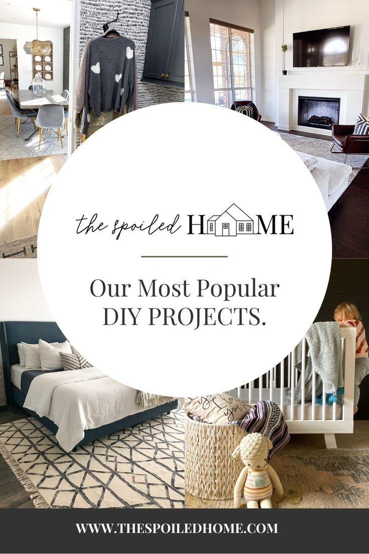 Since we started The Spoiled Home, Shalia and I have tackled a ton of DIYprojects between the two of us.Today we are doing roundup of our reader favorites.