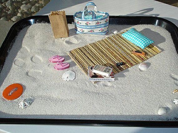 Beach Zen Garden Desktop Beach Mini Beach Mini Zen Garden Miniature Zen Garden Zen Garden