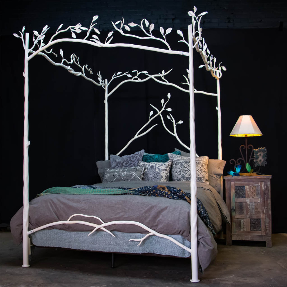 Alanna Standard Bed Canopy bed frame, Bed, Diy bed