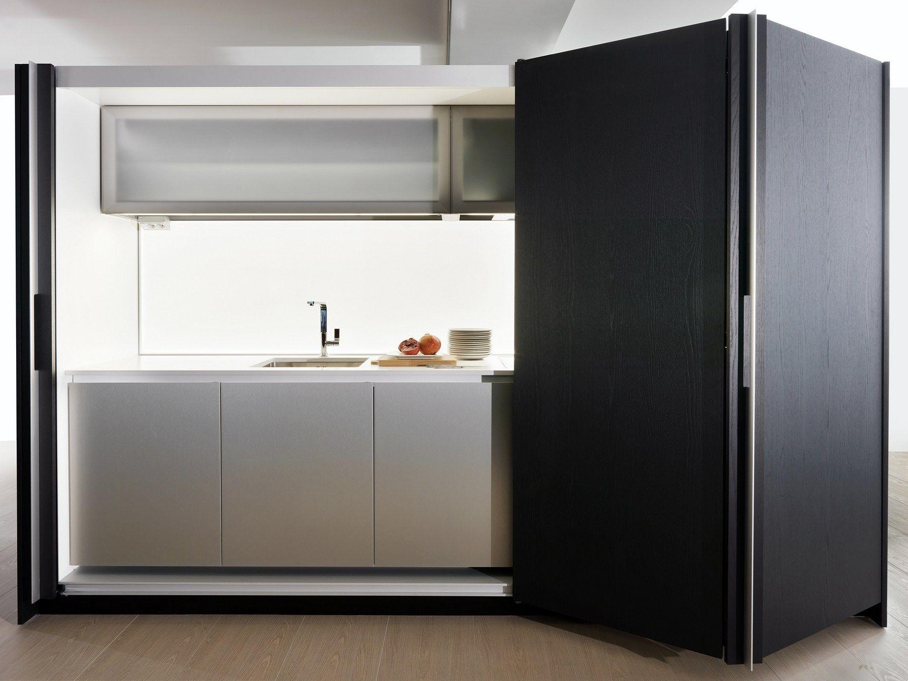 Hideaway Linear Kitchen Tivali By Dada Design Dante Bonuccelli