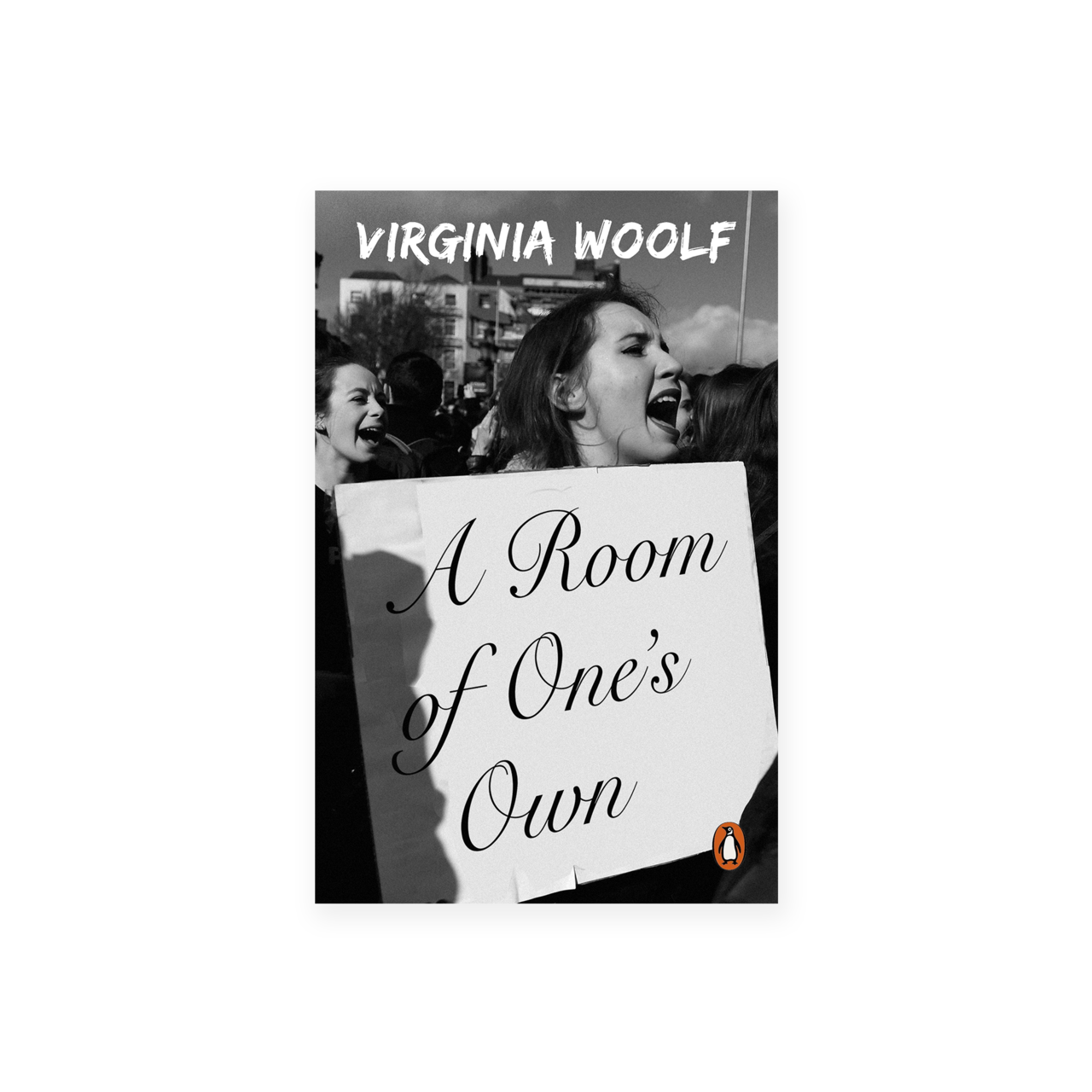 A Room Of One S Own By Virginia Woolf Published By Penguin Books Book Cover Design Todd Atticus Book Cover Book Design Book Cover Design