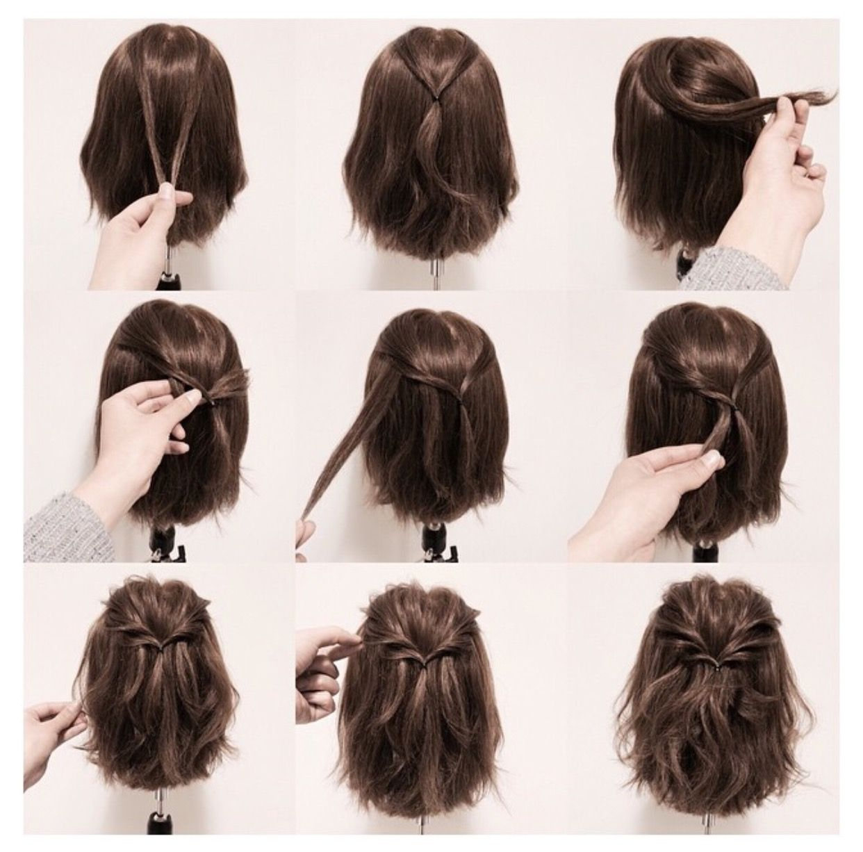 Pin by hannah ferwerda on super cute dous pinterest hair style