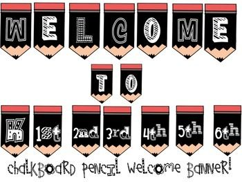 Super cute back to school banner