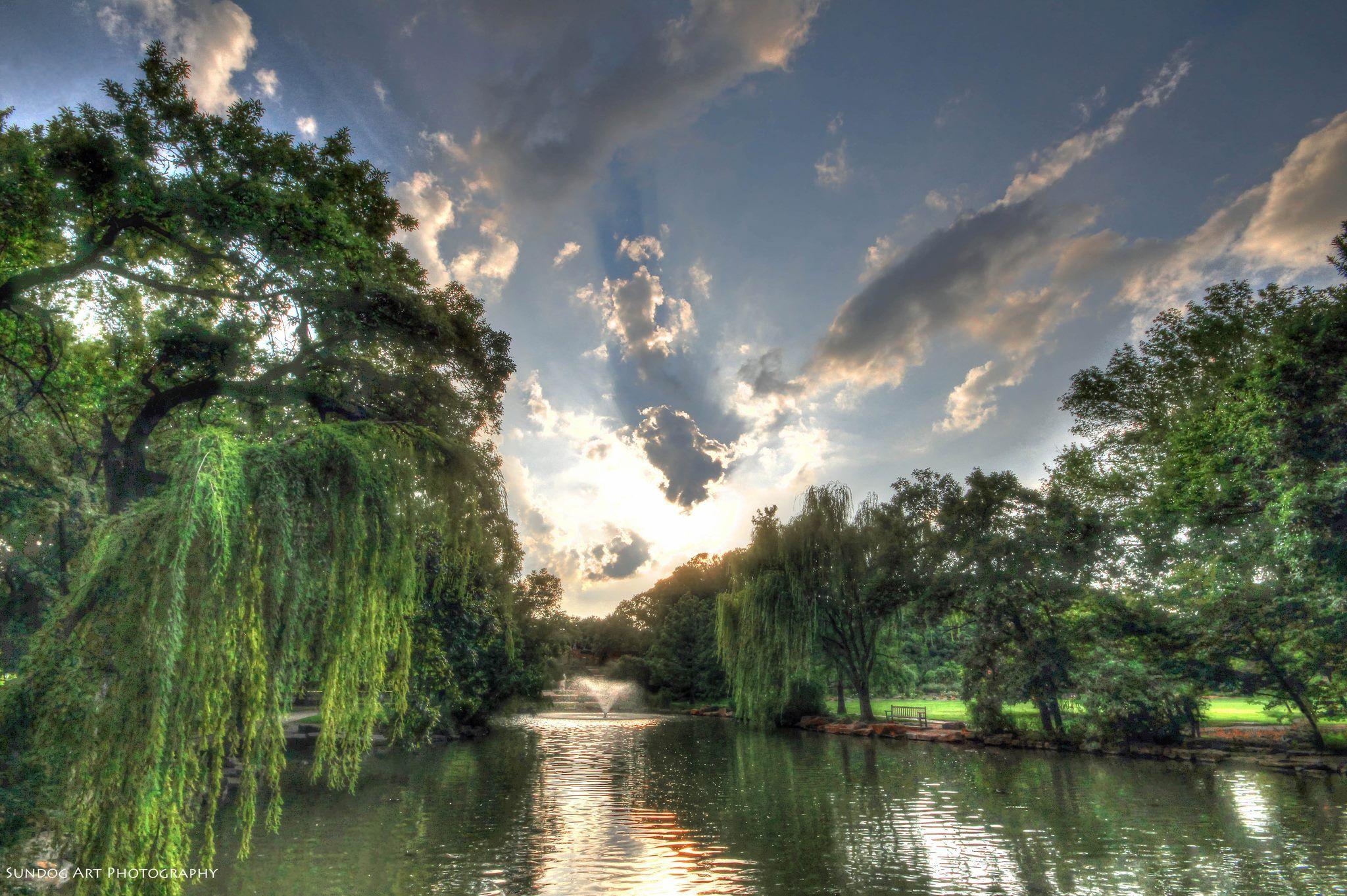 Fort Worth TX Botanic Garden