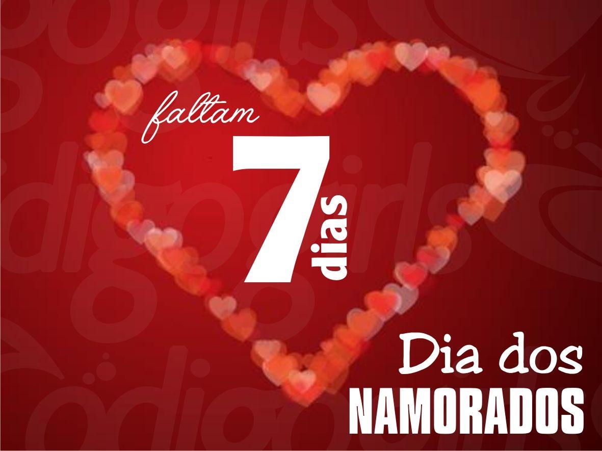 Contagem regressiva para o Dia dos Namorados!!! *-*