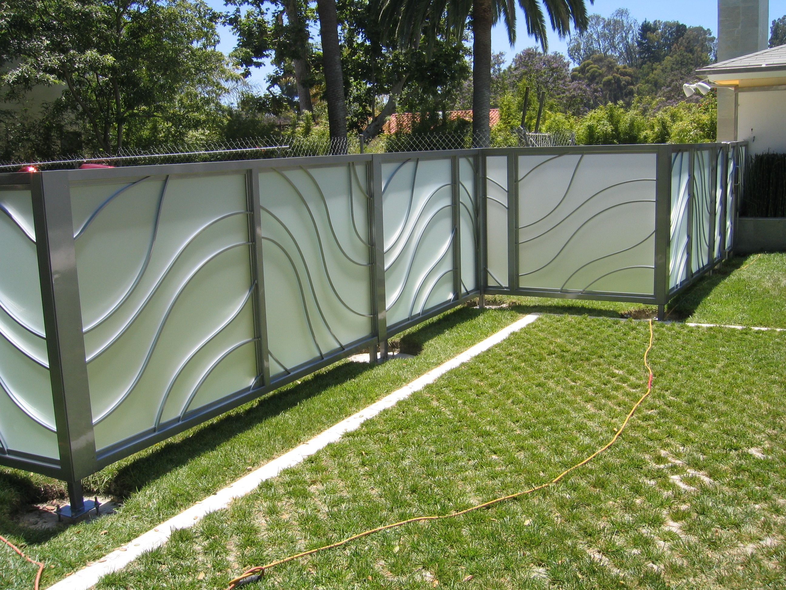 decorative metal fence panels metal fence panels settings and