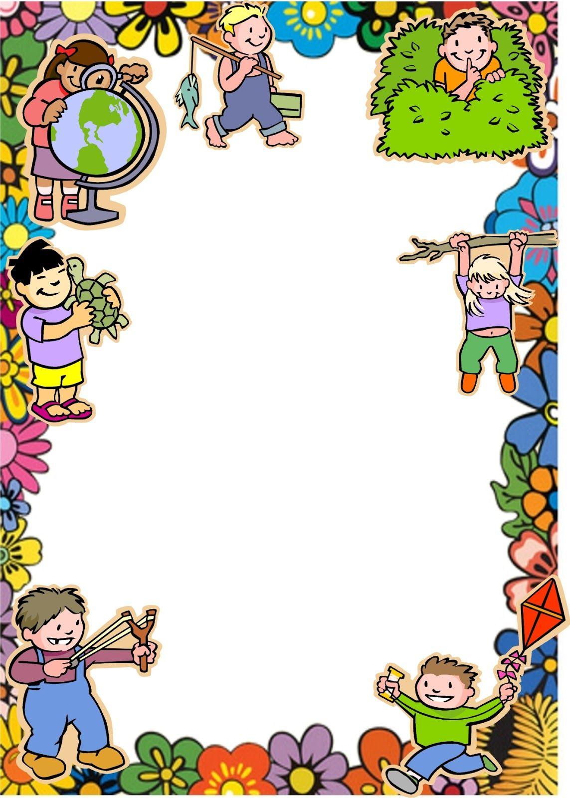 Caratulas escolares del chavo animado lindas infantiles for Bordes jardin