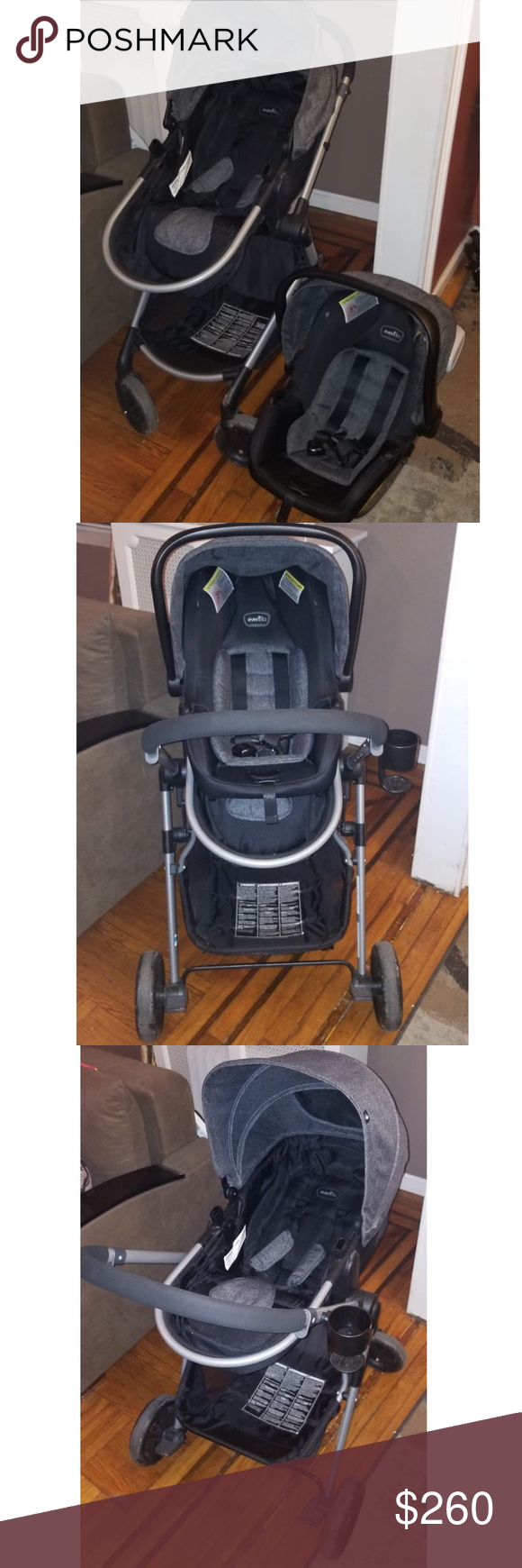 Evenflo Pivot Travel System This 3in1 stroller solution