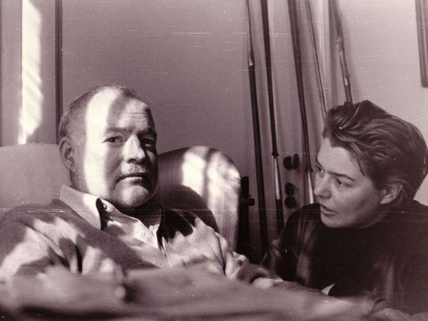 Hemingway and Fernanda Pivano