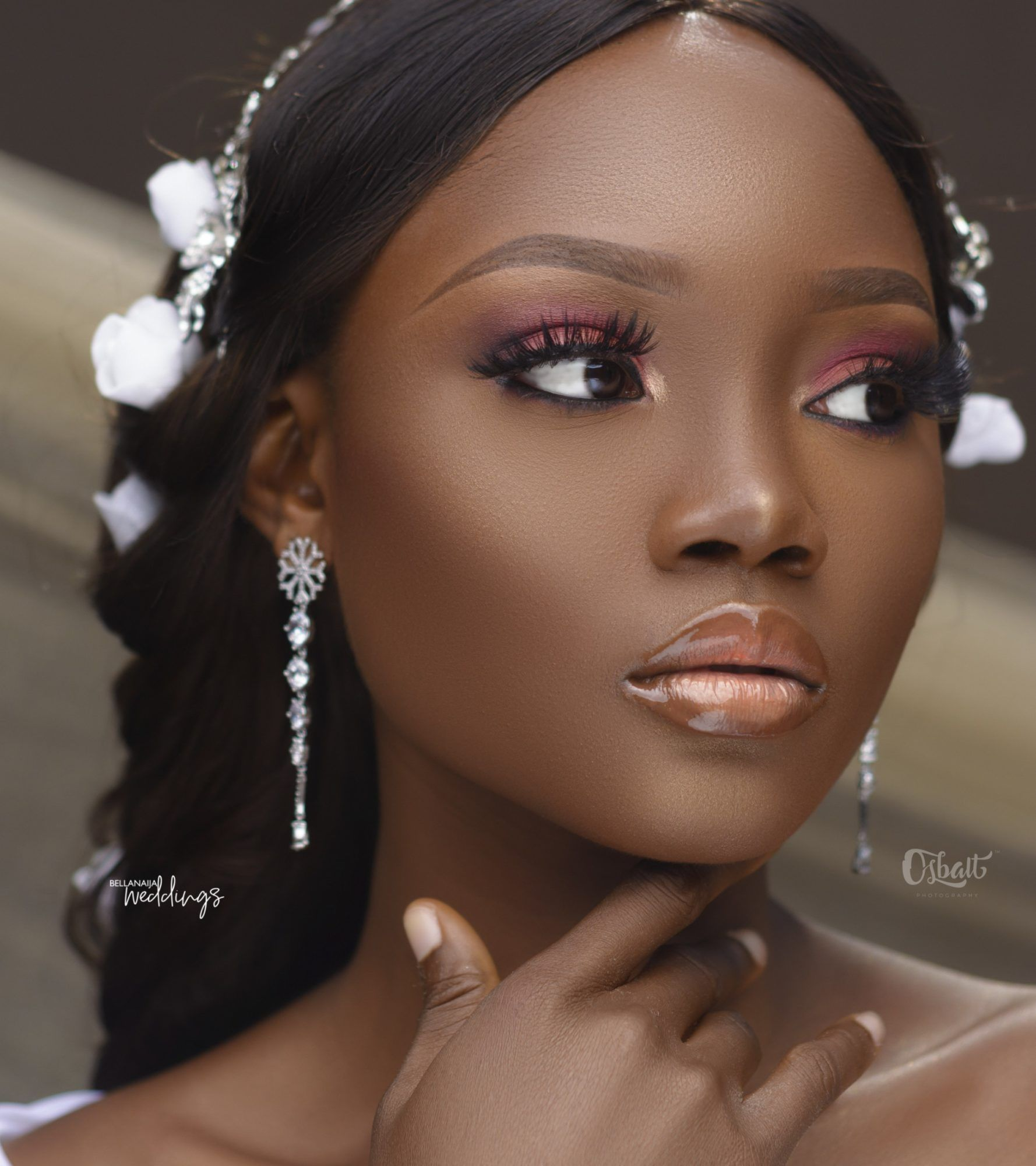 The Bride ♡ Beautiful This Bridal Beauty Look is as Smooth