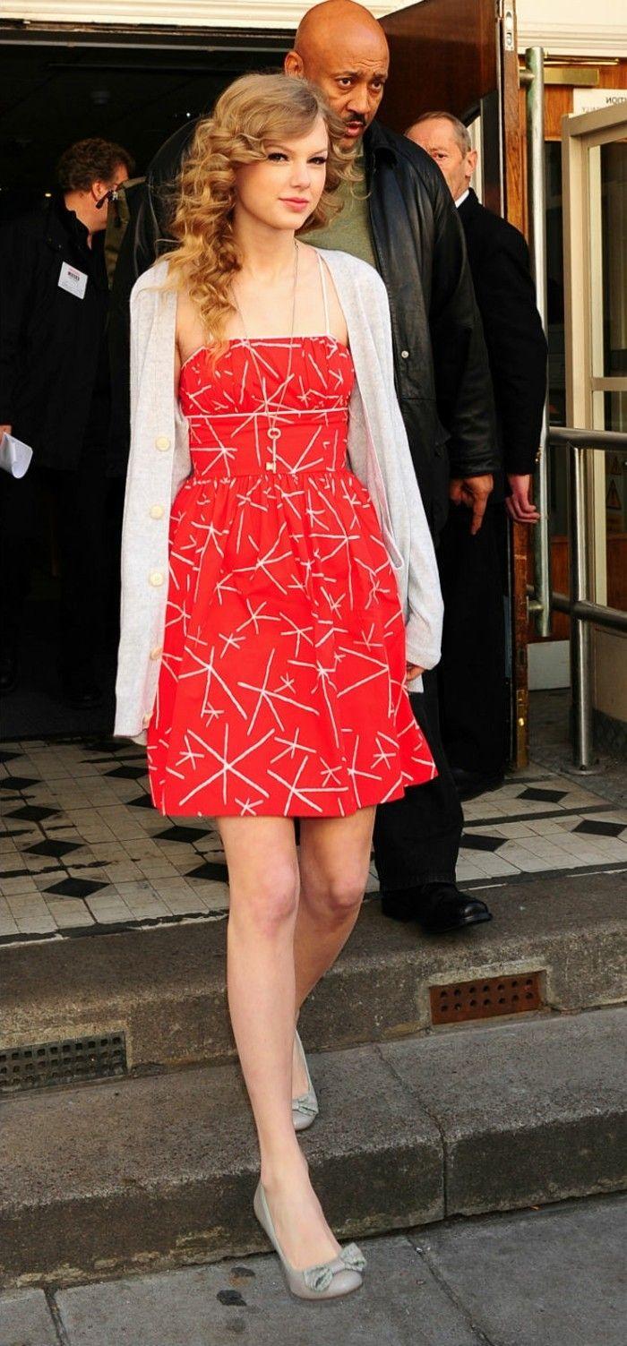 ▷ 1001+ Ideen für rotes Kleid - welche Schuhe zu wählen | Rotes ...
