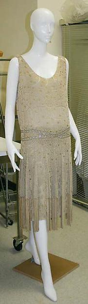 Evening dress Edward Molyneux 1925, The Met